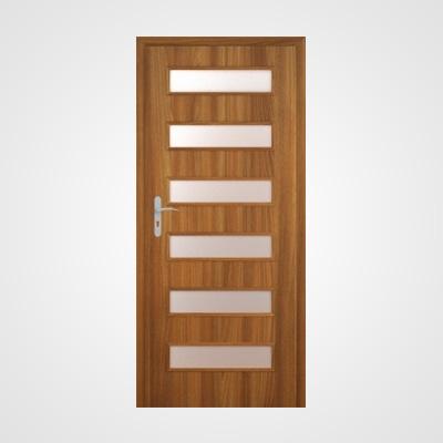Ușă de interior stejar auriu acacia Tetyda 1