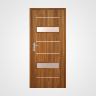 Ușă de interior stejar auriu acacia Tetyda 4