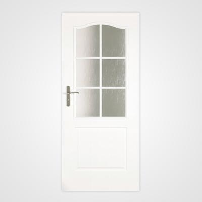 Ușă de interior albă Clasic 2/3