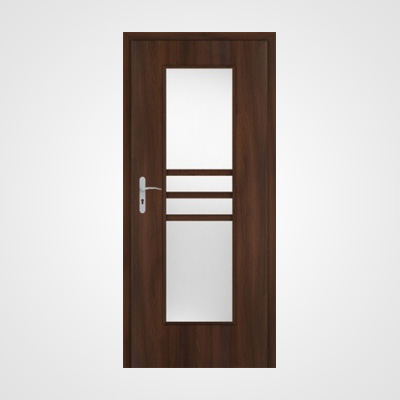 Ușă de interior frasin moca Demeter 2