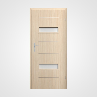 Ușă de interior stejar albit Tetyda 4