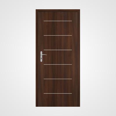 Ușă de interior frasin moca Tetyda 5