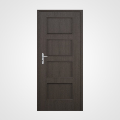 Ușă de interior wenge Malaga plină