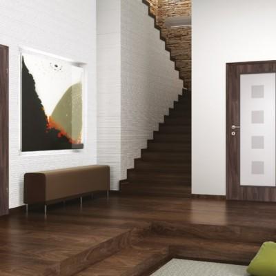 Ușă de interior albă Natura HR 4