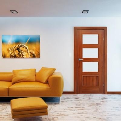 Ușă de interior stejar albit Malaga HR 5
