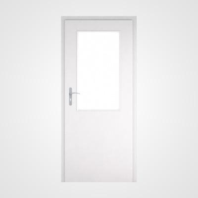 Ușă de interior albă Natura HR 3