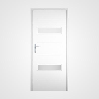 Ușă de interior albă Tetyda 4