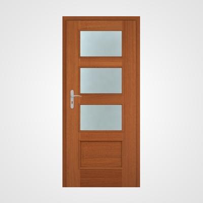 Ușă de interior nuc două direcții Malaga HR 4