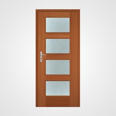 Ușă de interior nuc două direcții Malaga HR 5