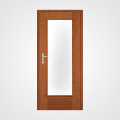 Ușă de interior nuc două direcții Natura HR 4