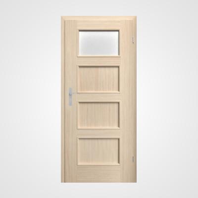 Ușă de interior stejar albit Malaga HR 2
