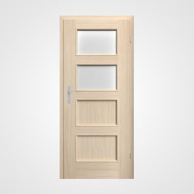 Ușă de interior stejar albit Malaga HR 3