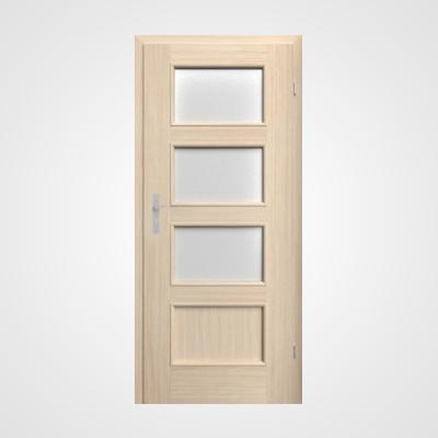 Ușă de interior stejar albit Malaga HR 4