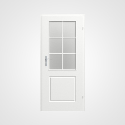 Ușă de interior albă Morano Model 2.4
