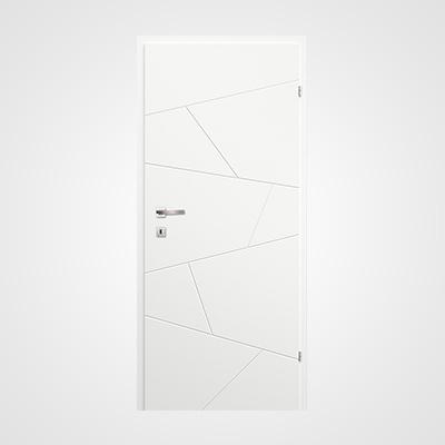 Ușă de interior albă Linea Model 2.12