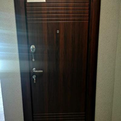 Ușă metalică NAPOLI 308/1 (wenge)