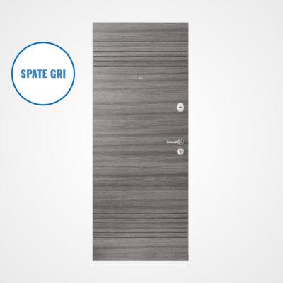 Ușă metalică MILANO 308/2 (gri/gri)