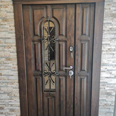 Ușă metalică ROMA dublă 960