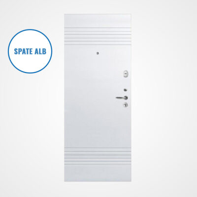 Ușă metalică MILANO 308/5 (gri/alb)