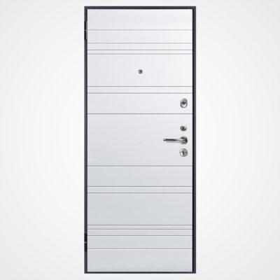 Ușă metalică NEW YORK 700 (gri/alb)