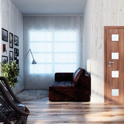 Ușă de interior Frasin Alb Modena 4